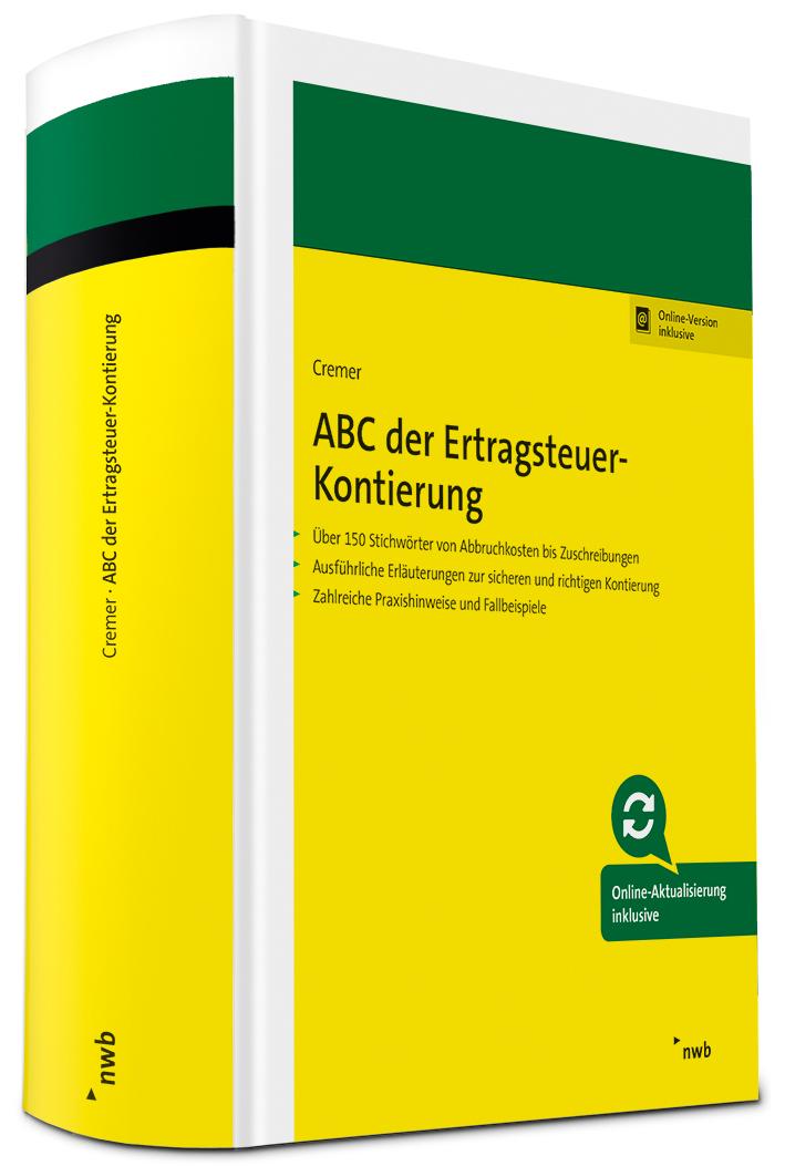 ABC der Ertragsteuer-Kontierung
