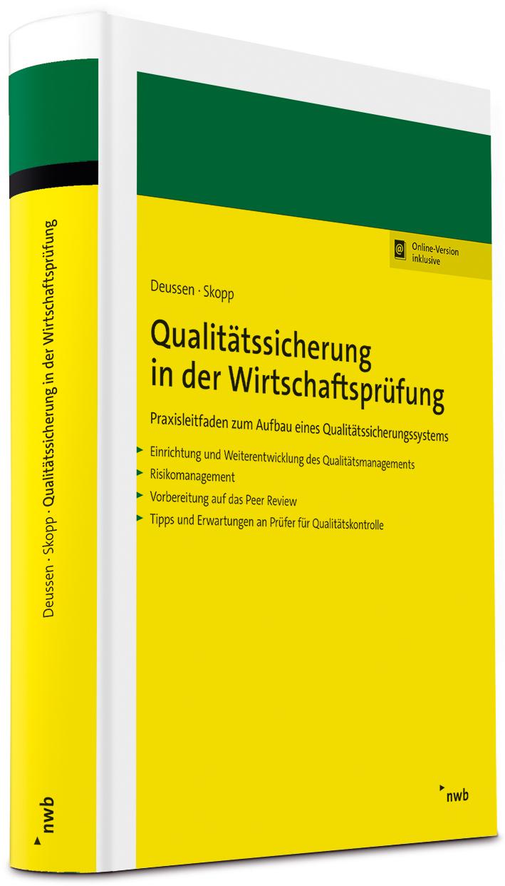 Qualitätssicherung in der Wirtschaftsprüfung
