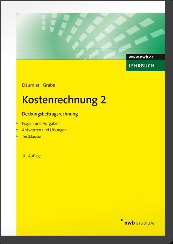 Kostenrechnung 2 - Deckungsbeitragsrechnung