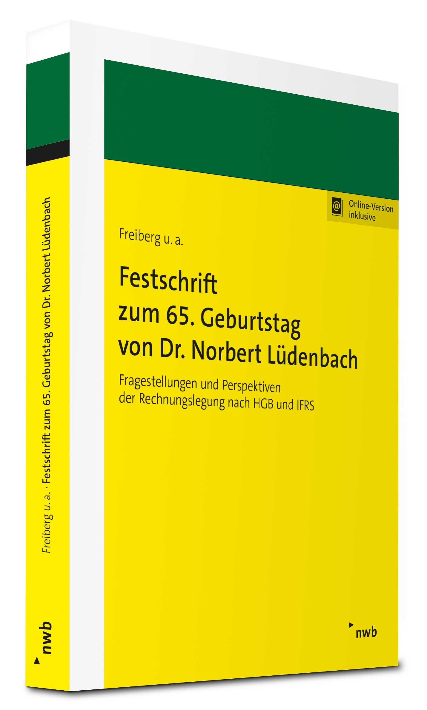 Festschrift zum 65. Geburtstag von Dr. Norbert Lüdenbach