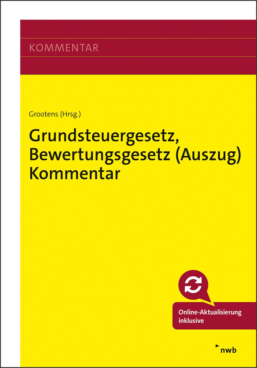 Grundsteuergesetz, Bewertungsgesetz (Auszug) Kommentar