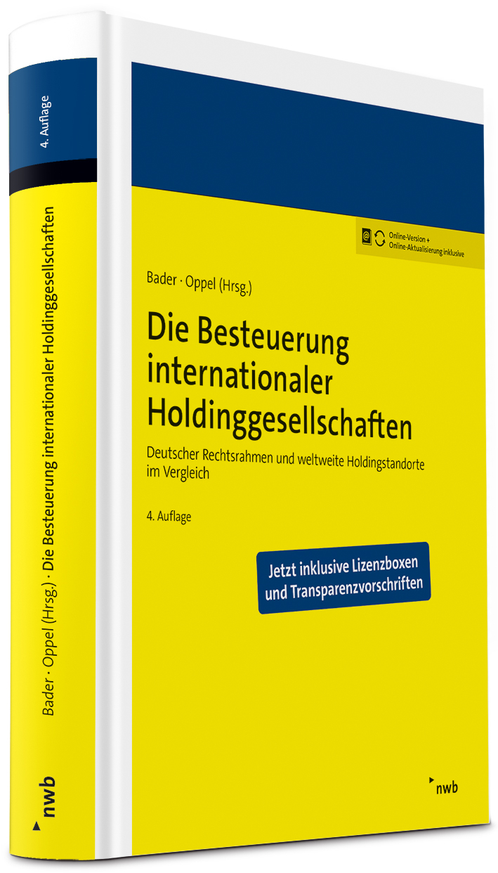 Die Besteuerung internationaler Holdinggesellschaften