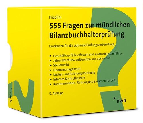 555 Fragen zur mündlichen Bilanzbuchhalterprüfung