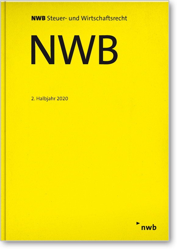 NWB-Einbanddecke 2. Halbjahr 2020