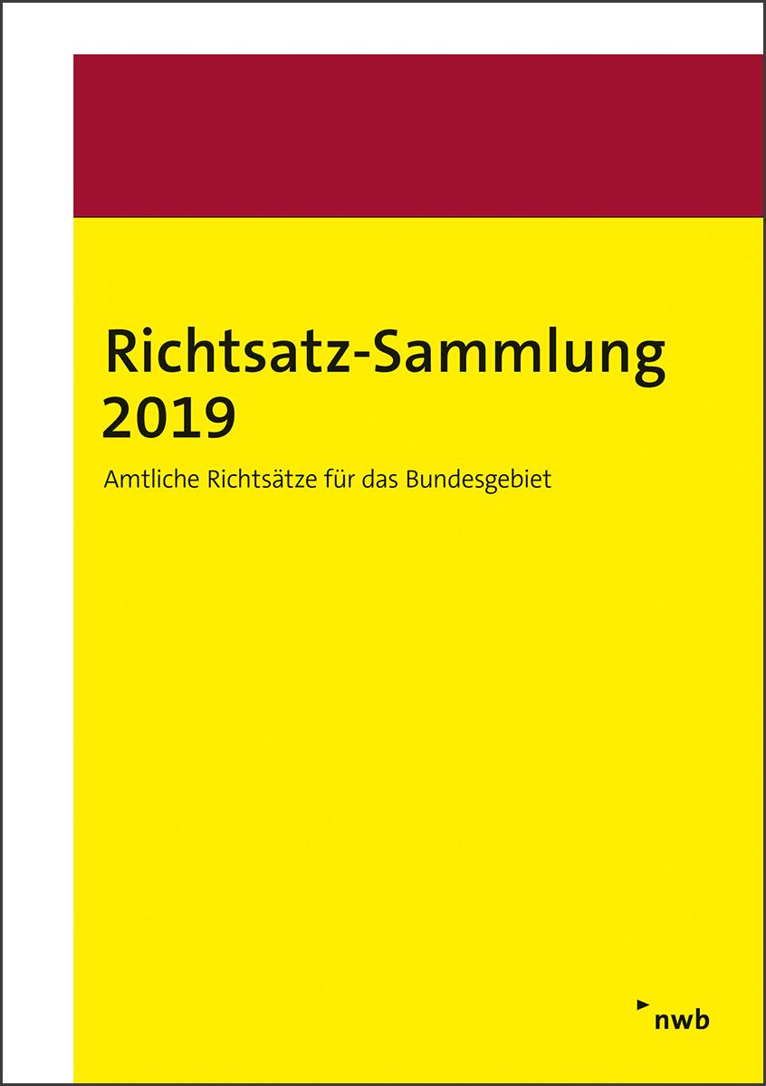 Richtsatz-Sammlung 2019