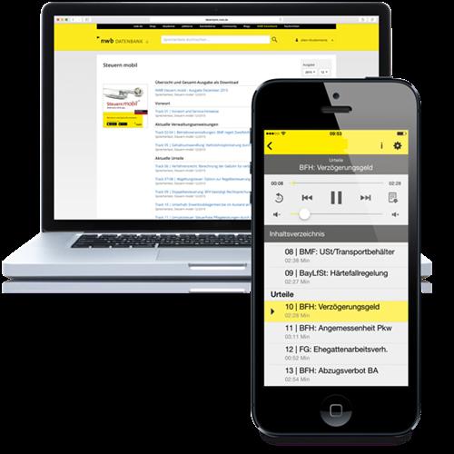 Steuern mobil online