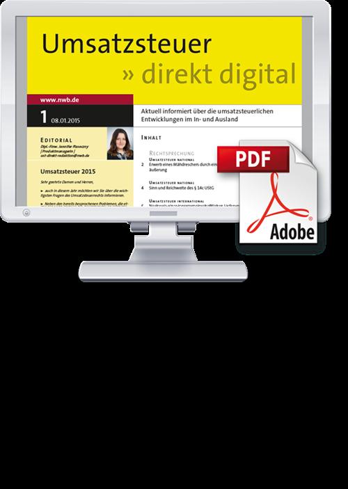 Umsatzsteuer direkt digital