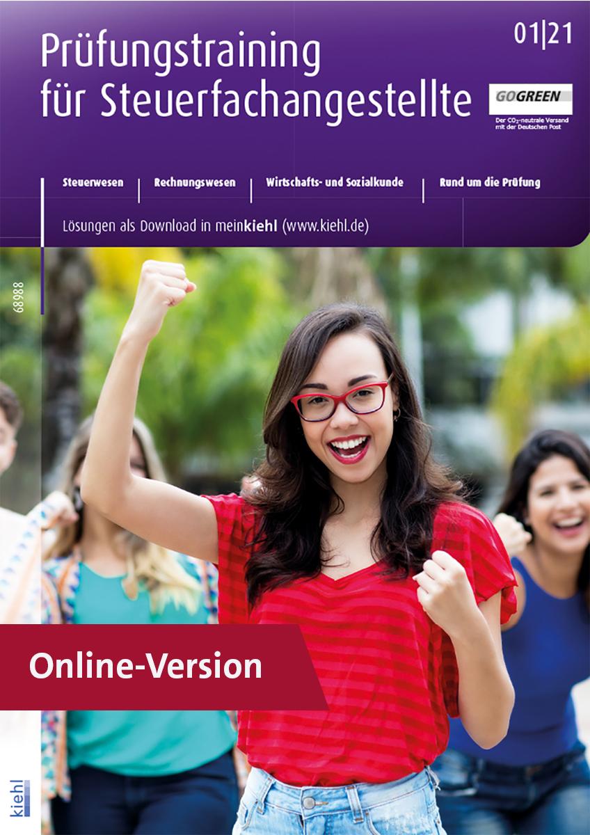 Prüfungstraining für Steuerfachangestellte Online