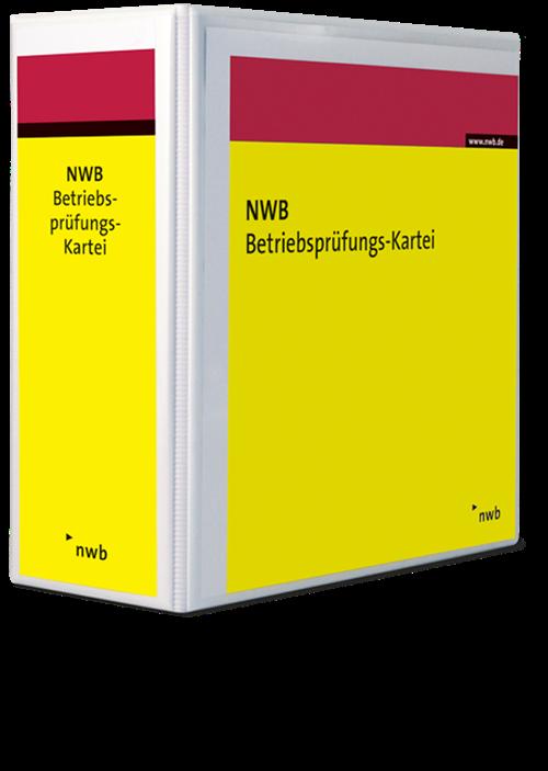 Leerordner NWB Betriebsprüfungs-Kartei