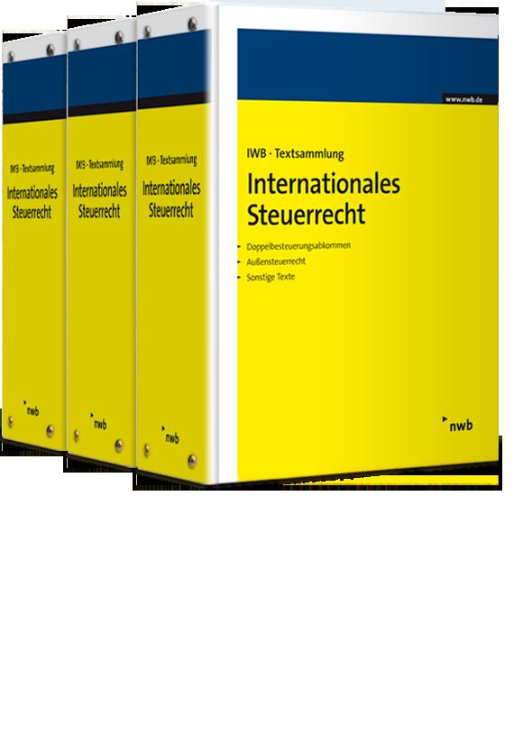 IWB-Textsammlung - Internationales Steuerrecht mit 12 Monaten Mindestbezug