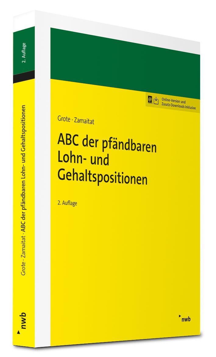 ABC der pfändbaren Lohn- und Gehaltspositionen