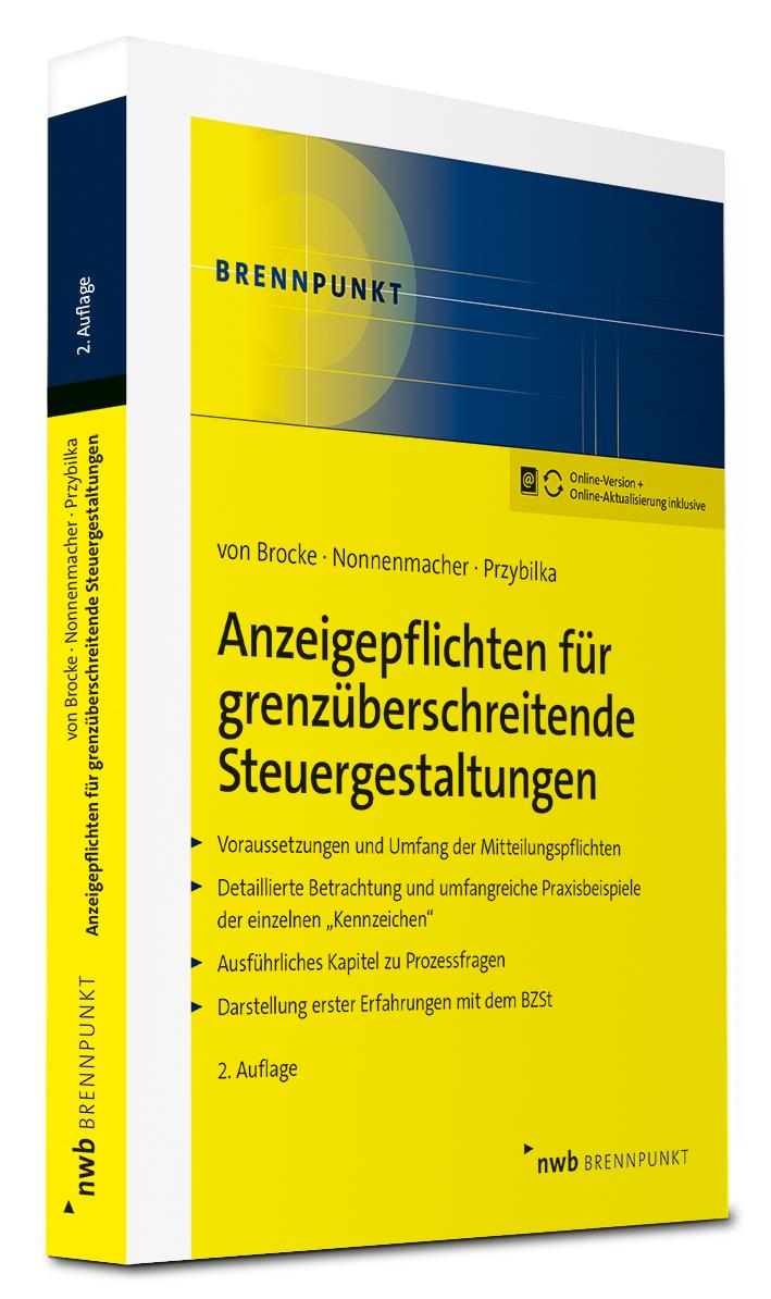 Anzeigepflichten für grenzüberschreitende Steuergestaltungen