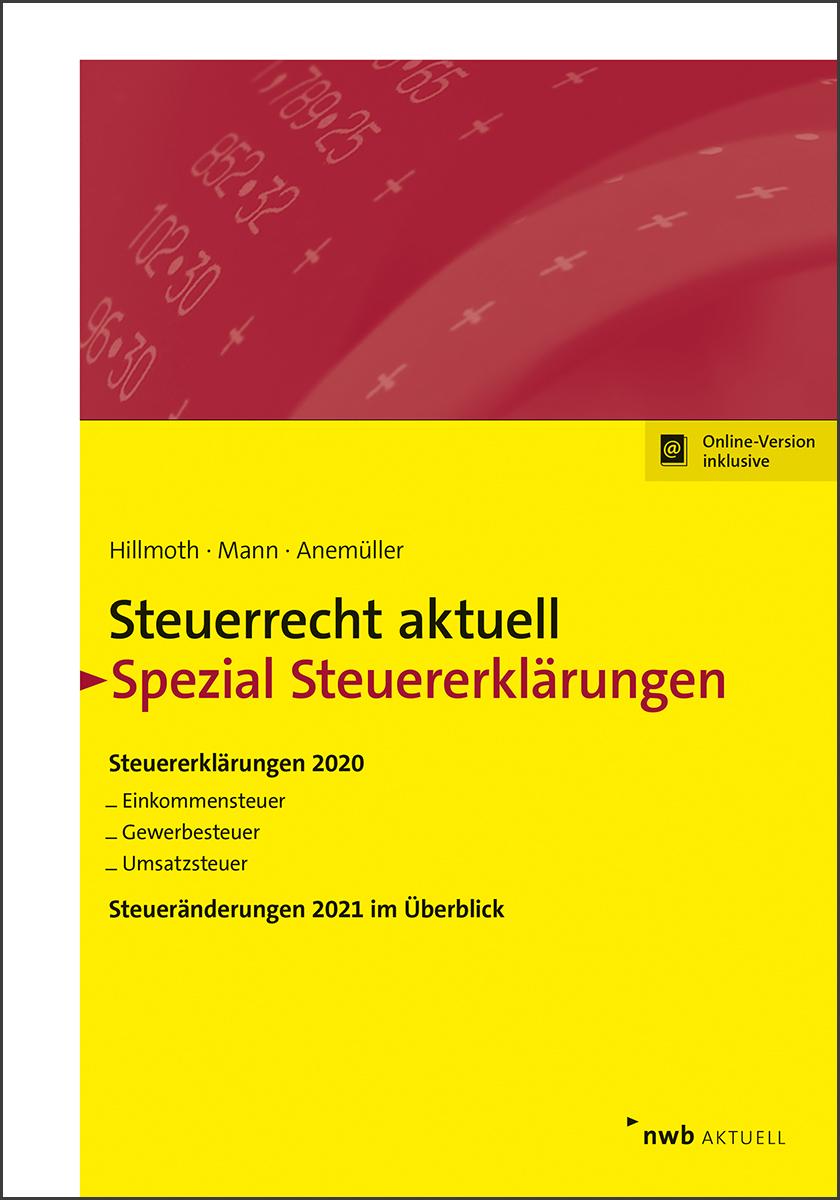 Steuerrecht aktuell Spezial Steuererklärungen 2020