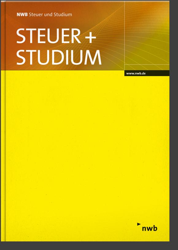 NWB Steuer und Studium - Einbanddecke 2019