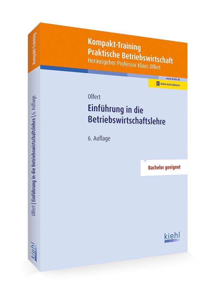 Kompakt-Training Einführung in die Betriebswirtschaftslehre