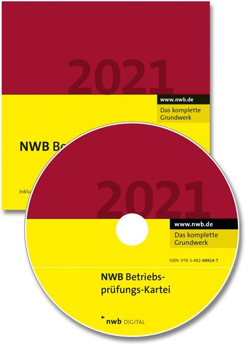 NWB Betriebsprüfungs-Kartei DVD 2/2021