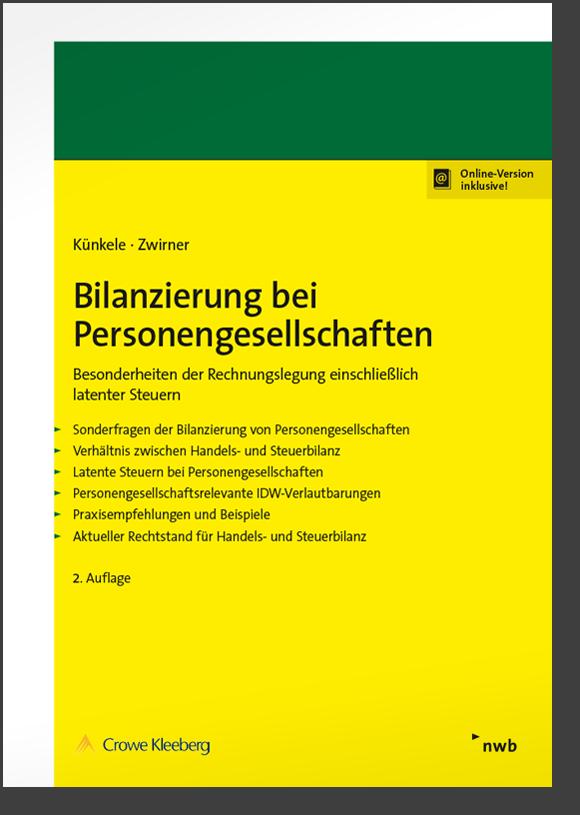 Bilanzierung bei Personengesellschaften