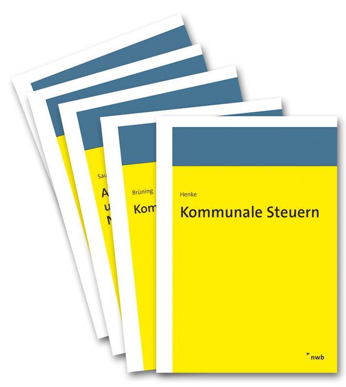 Bücherpaket Praxishandbücher Kommunale Abgaben