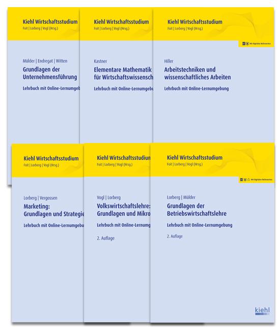 Bücherpaket BWL Grundlagen