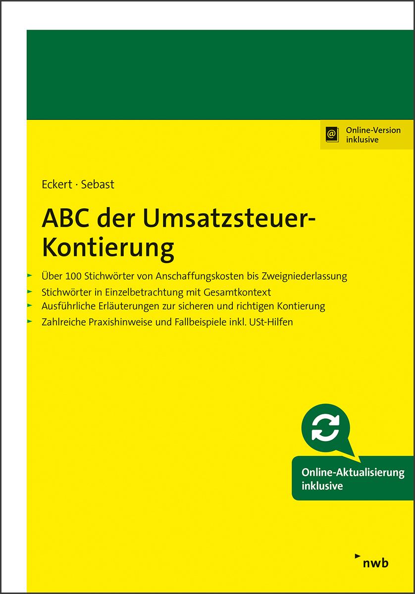 ABC der Umsatzsteuer-Kontierung