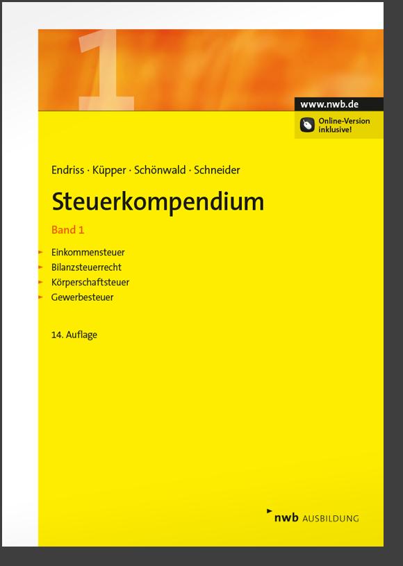 Steuerkompendium, Band 1