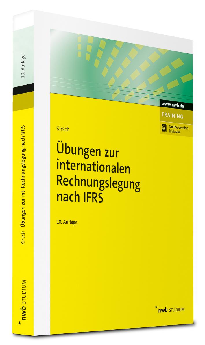 Übungen zur internationalen Rechnungslegung nach IFRS Buch Cover