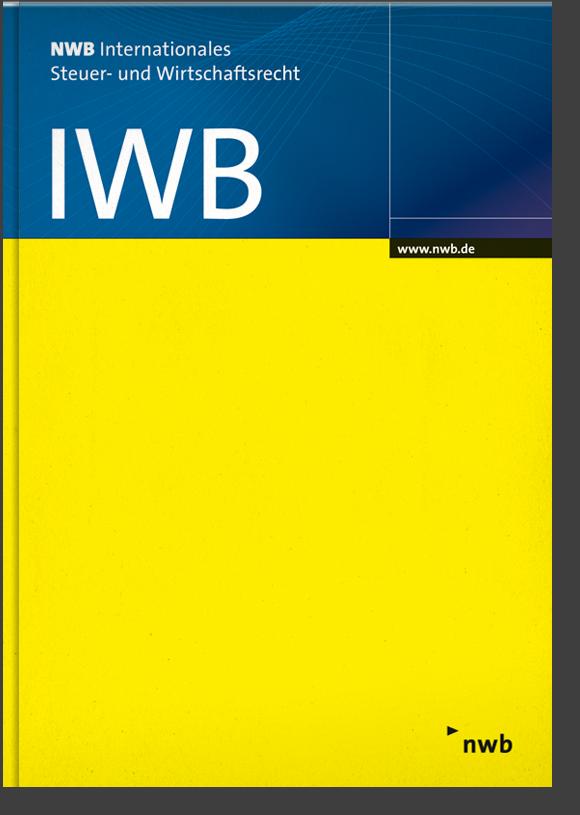 IWB Einbanddecke 2019