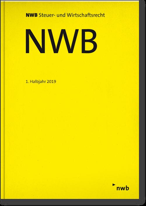 NWB-Einbanddecke 1. Halbjahr 2019